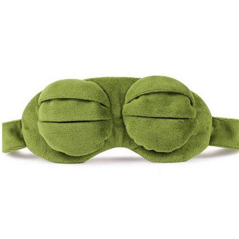 Sleeping Mask Model Kodok sleeping mask model kodok dengan bag green jakartanotebook
