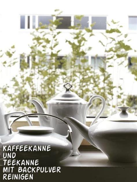 Kaffeekanne Reinigen Backpulver die besten 25 kaffeekanne ideen auf