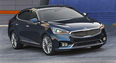 Kia American Car All New 2017 Kia Cadenza Makes American Debut W