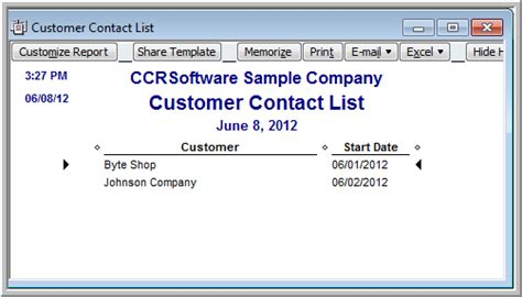 Quickbooks Customer Contact List Report by Can I Get A List Of New Customers From Quickbooks Practical Quickbooks Practical Quickbooks