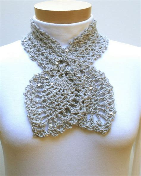 Wst 12189 Flower Crochet Top Wst 57 best images about crochet scarf keyhole on