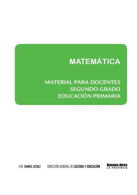 matematica segundo grado esslidesharenet matematica segundo grado