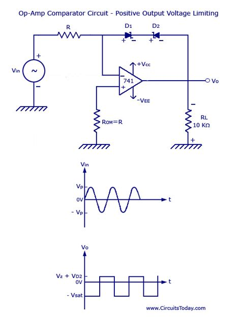 diode comparator circuit electro view topic voltage limiter