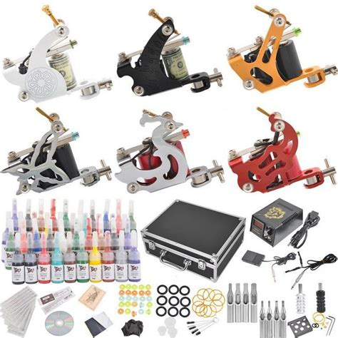tattoo kit with everything dragon tattoo kit complete kits free shipping kits
