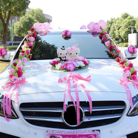 Aliexpress.com : Buy Artificial Flowers Wedding Car