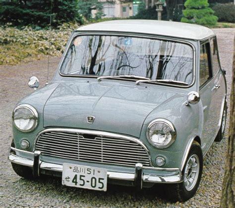 Mini Auto Alt by Leistungsgewicht Mini Gestern Und Heute