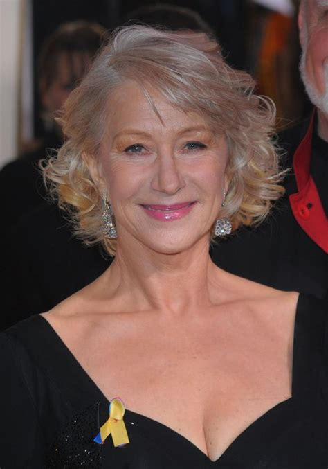 helen mirren hairstyles 2010 nails and main character on pinterest
