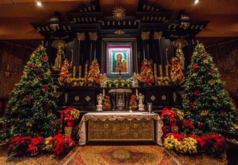 shrine   lady  czestochowa open  christmas mass visits catholic philly