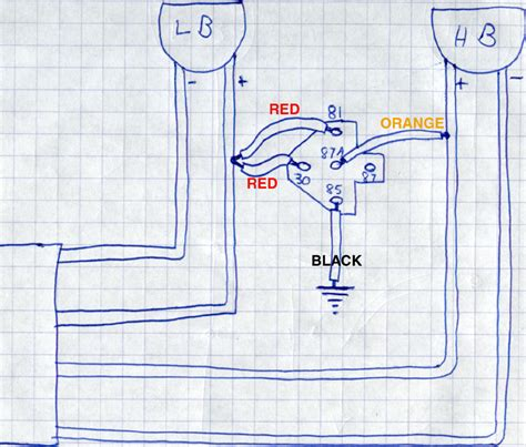 hid light relay wiring diagram wiring diagrams wiring
