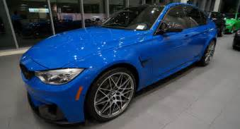 Bmw M3 Colors Enzian Blue Bmw M3 Individual Is Gorgeous But Costs