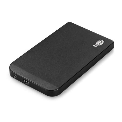 Harddisk 2 5 Inch 2015 new black external drive enclosure 2 5 inch usb 2 0 ide portable hdd ultra thin
