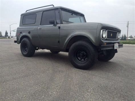 Jeep Scout International Scout Bronco Jeep 4x4 Classic