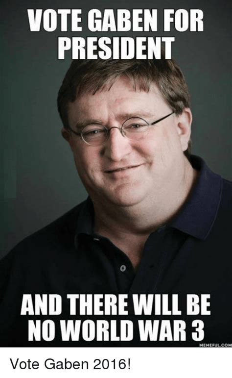 funny gaben memes of 2017 on sizzle gabe newell