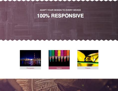 museum one page template responsive muse templates
