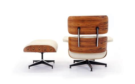 vintage eames chair and ottoman vintage rosewood eames lounge chair and ottoman with new