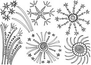 free printable fireworks coloring pages for