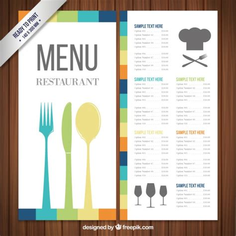 indian restaurant menu templates free download new indian restaurant