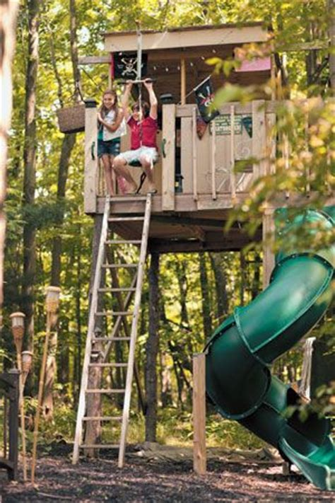 25 best ideas about zip line backyard on