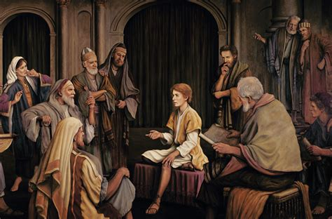 jesus teaching in the temple as a boy coloring page jesus christ