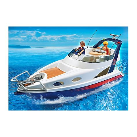 play it can buy me a boat pack playmobil boat luxury yatch catamaran with dolphins