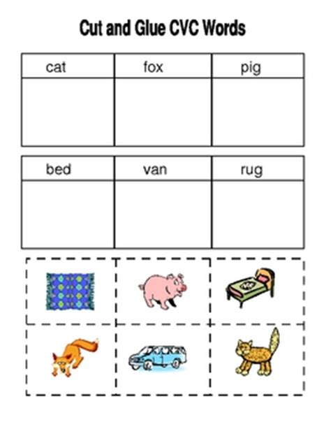 printable cvc games for kindergarten cvc worksheets kindergarten first by susan falvey tpt
