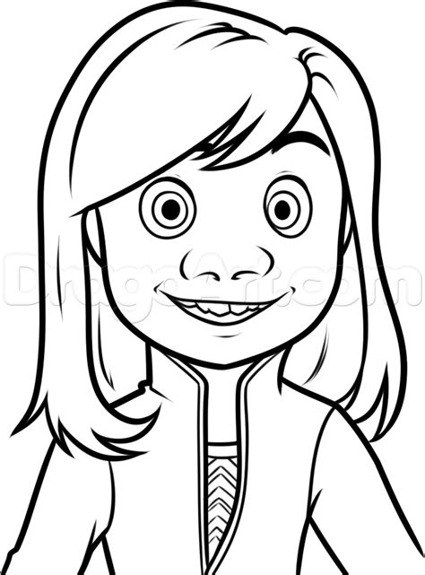 inside out coloring pages pinterest inside out disgust drawing google search resident