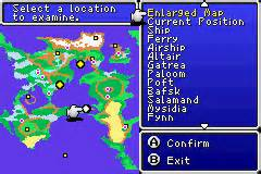 Ff2 World Map by Image Ffii Gba World Map Png Final Fantasy Wiki
