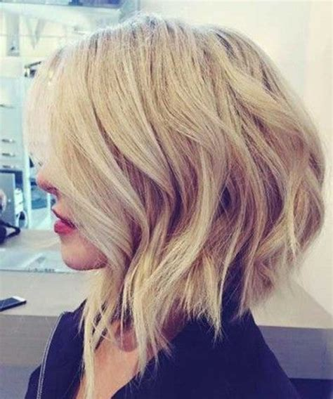 hairstyles wavy bob long in front romantic short edgy bob hairstyles 2018 for women to look