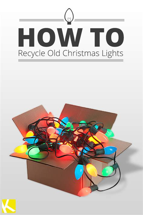 how to recycle old christmas lights the krazy coupon lady