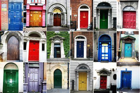colorful doors doors in dublin by enspire on deviantart