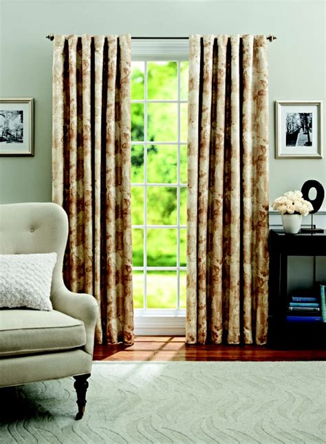 better homes and gardens leaf scroll thermal window panel