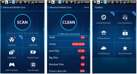mobile care apk free advanced mobile care apk 5 7 2 optimiza protege tu android fu