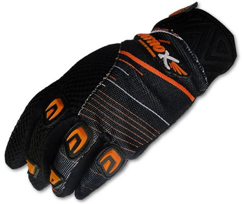 Motorrad Handschuhe Orange by Atrox Cross Handschuhe 5301 Orange