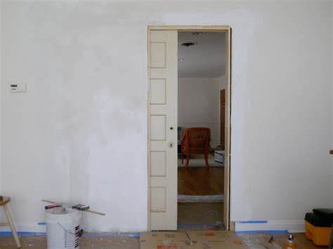 How To Make A Pocket Door by How To Build A Pocket Door C R A F T