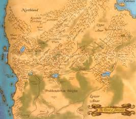 from terry shannara saga the map of the four lands