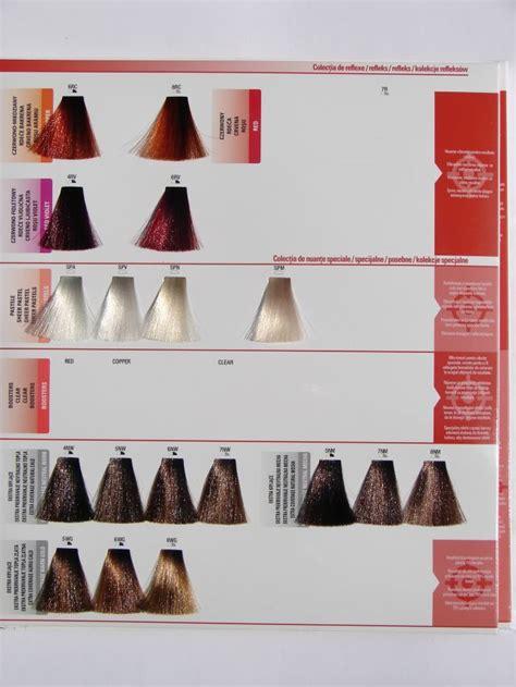 matrix sync hair color chart matrix colorsync shades palette oct 2013 color charts