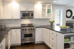 Black Kitchen Cabinets Backsplash » Home Design 2017