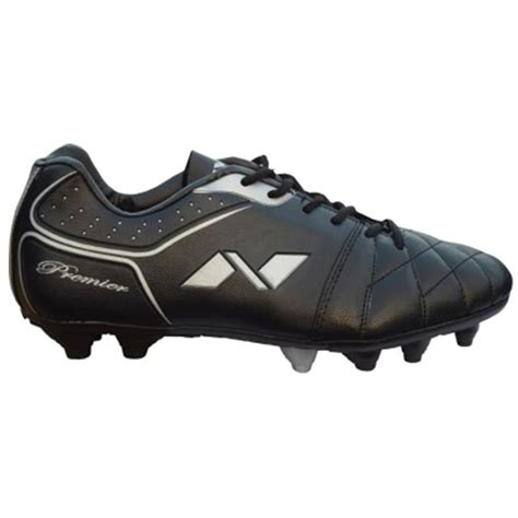 football shoes nivia premier range football shoes black buy nivia