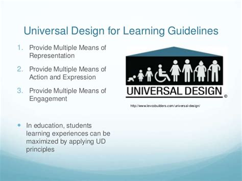 definition universal design for learning edp 279 ud in education