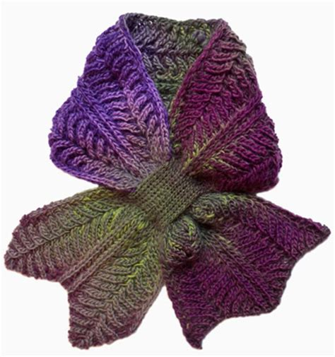 brioche knitting patterns free 10 keyhole scarves and shawl knitting patterns