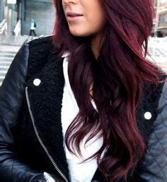 coke blowout hairstyle blowout burgundy hair color make me pretty pinterest