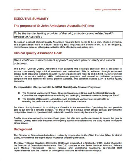 writing the pest quality assurance plan 11 quality assurance plan templates free excel pdf word