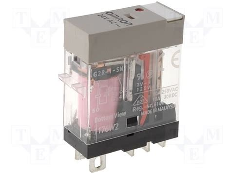 Omron G2r Relay g2r 1 sn 24vac s omron relay electromagnetic tme