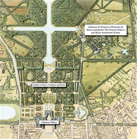 Versailles Garden Map 89 best images about palace of versailles on louis xiv frances o connor and stables
