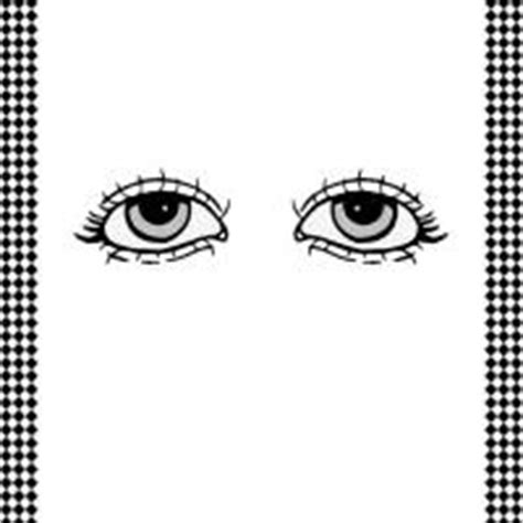 free printable eyes for crafts pair of eyes flash card