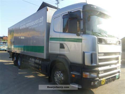 scania 124 l 420 cv ab trailer schwarzm 252 ller 2001 box