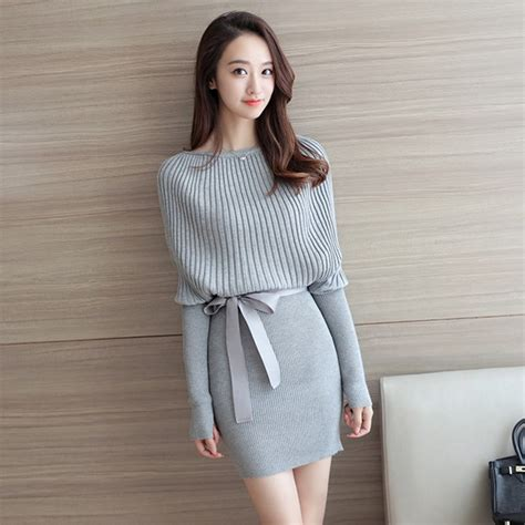 Dress Mini Korean missoov luxury brand designer s clothing fall winter