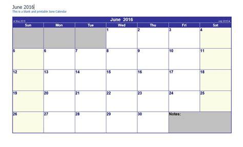 printable calendar easy june 2016 word calendar printable monthly calendar