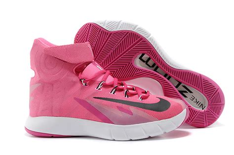 pink and black basketball shoes nike zoom hyperrev kyrie irving pink black basketball