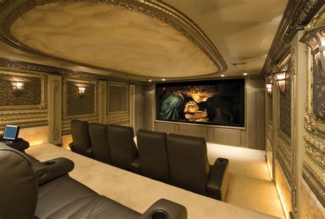 custom home theaters winslow design